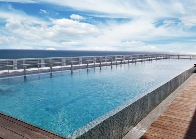 Penthouse Rooftop Lap Pool